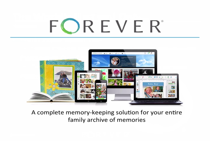 Archiving your photos digitally using Forever.com